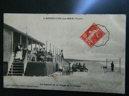 L'AIGUILLON SUR MER                     LE CASINO ET LA PLAGE DE LA FAUTE - France