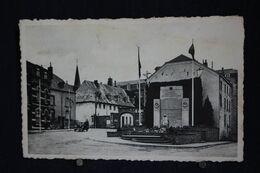 U-237 / Luxembourg - Bastogne,Monument Aux Morts De La Ville Et Le Séminaire  / Circule - Bertogne