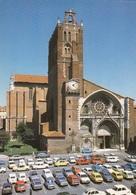 CP TOULOUSE 31 HAUTE GARONNE - PLACE DE LA CATHEDRALE - VIEILLES VOITURES - 2CV, 4L, SIMCA 1100 - Toulouse