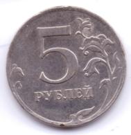 RUSSIA 2012: 5 Rubles, Y# 799a - Russland