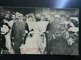 CREON                  1907   COURONNEMENT DE LA ROSIERE       SORTIE DE L'EGLISE - Frankreich