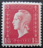 FRANCE Marianne De Dulac N°691 Neuf ** - 1944-45 Maríanne De Dulac