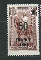 MADAGASCAR N° 258 ** TB 1 - Ungebraucht
