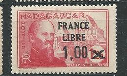 MADAGASCAR N° 260 ** TB 2 - Ungebraucht