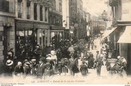 D56  LORIENT  Entrée De La Rue Des Fontaines - Lorient