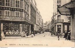 D56  LORIENT  Rue Des Fontaines Nouvelles Galeries  ............ Avec Panneau Dentiste - Lorient