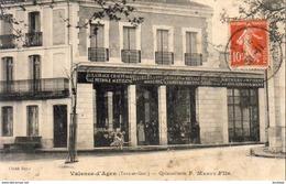 D82  VALENCE D'AGEN  Quincaillerie F.Marty Fils - Valence