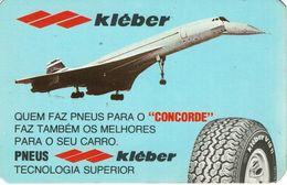 Advertising Pocket Calendar 1980 , Kleber Tires , Concorde - Calendars