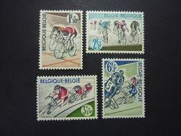 BELGIQUE, Année 1963, YT N° 1255 à 1258 Neufs MH*, Série Complète De 4 Valeurs - Ongebruikt