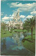 XW 3362 Disneyworld - Cindarella Castle - Walt Disney / Viaggiata 1979 - Disneyworld