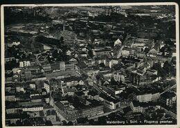 AK/CP Waldenburg  Walbrzych  Luftaufnahme    Gel/circ. 1936   Erhaltung/Cond. 2  Nr. 01092 - Schlesien