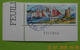 FRANCE 2020   ST VAAST LA HOUGUE   Timbre Neuf    Cachet   ROND  NUMEROTE - Used Stamps
