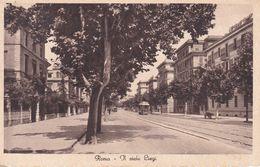 ROMA - VIALE LIEGI - TRAM / FILOBUS - 1935 - Trasporti