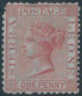 88559 -  SIERRA LEONE - STAMP : Stanley Gibbons # 7 - MINT  Never Hinged MNH - Sierra Leone (...-1960)