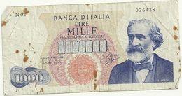 1000 LIRE--N01--   036438  26   GIUGNO  1962 - [ 2] 1946-… : Repubblica