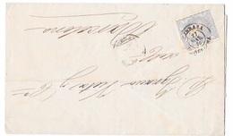 1870 TARRASA ENVUELTA DE CARTA A BARCELONA  -SPH1 - 1868-70 Gobierno Provisional
