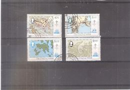 Hong Kong - Cartes - Yv.421/24 - Série Complète - Obl/gest/used - Hong Kong (...-1997)