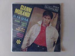 """45 T Gianni Morandi """" Si Fa Sera + Sono Tanto Solo + 2 Titres """" - Vinyl Records"""