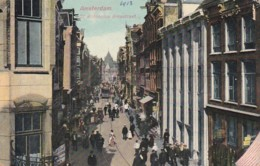481916Amsterdam, St. Anthonius Breestraat 1913.(zie Hoeken, Randen En Achterkant) - Amsterdam