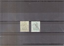 Hong Kong - 2 Fiscaux - Obl/gest/used (to See) - Hong Kong (...-1997)