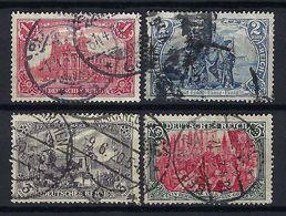 ALLEMAGNE 1905: Les Y&T 92-95, Oblitérés CAD - Used Stamps