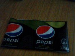 Labels Pepsi - Etiketten
