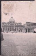 C. Postale - Roma - Place Saint-Pierre Et Basilique  - Circa 1910 - Circulee - A1RR2 - San Pietro