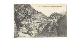 Cpa - 06 - Route Et Gorges De SOSPEL à MOULINET - Victor Truchi 3 - Frankreich