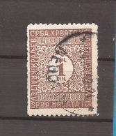 KR 2  1921  -56    JUGOSLAVIJA JUGOSLAWIEN  PORTO      USED - Oblitérés