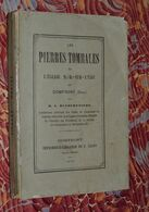 [NORMANDIE - ORNE] - Les Pierres Tombales... églises DOMFRONT  1878  RARE - Bücher, Zeitschriften, Comics