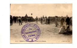 Carte Nekhila Entree Redoute Cachet Place Sifi Mellouk écrite 1914 - Marruecos