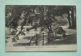 60 - ERMENONVILLE - Le Pont Du Chateau - Ermenonville
