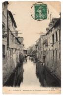 CPA 14 - LISIEUX (Calvados) - 57. Maisons Sur La Touques Au Pont De Caen - ND Phot - Lisieux