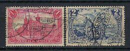ALLEMAGNE 1900: Les Y&T 61-62 Obl. CAD - Used Stamps