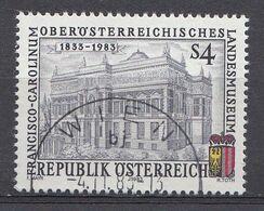 Autriche 1983  Mi.Nr: 1758 Öberdaterreichsches Landesmuseum    Oblitèré / Used / Gebruikt - 1981-90 Usados