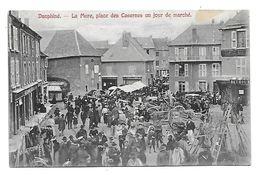 38 Dép.- La Mure, Place Des Casernes Un Jour De Marché. P. G. Editeur, La Mure. Carte Postal Ayant Voyagé En 1907,dos Sé - La Mure