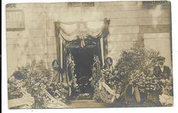 50-GRANVILLE-CARTE PHOTO-Enterrement Du Docteur LETOURNEUR, Maire... 1911 - Granville