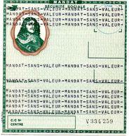 """Mandat De Sécurité Sociale """"Sans Valeur"""" - Bank & Insurance"""