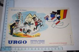 Buvard Urgo N°4 En Belgique Pansement D'urgence Manneken-pis Coq - Drogerie & Apotheke