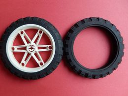 Roue + Pneu LEGO TECHNIC Moto 81,6x15 - Lego Technic