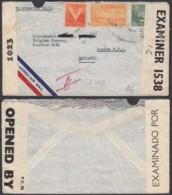 Cuba - Lettre Par Avion Vers Ondon-England. Censuré. 2ème. Guerre................. (DD) DC-7697 - Usados