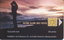 Télécarte 50U, Tirage 1500, Notre Dame Du Vent (Logo Au Coin Opposé) - TAAF - Terres Australes Antarctiques Françaises