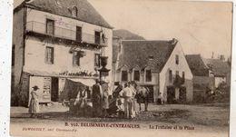 EGLISENEUVE-D'ENTRAIGUES LA FONTAINE ET LA PLACE - Autres Communes