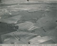 Argentique Photo Aérienne Morhange Moselle 20 Juin 1950 Aviation - Orte