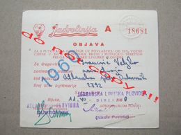 Croatia / Dubrovnik - Adriatic Liner Shipping, Jadrolinija ( 1960 ) - Europe
