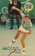 QATAR - Tennis, Qatar Open 94/Stefan Edberg, Used - Qatar