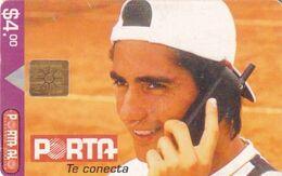 ECUADOR - Tennis, Nicolás Lapentti, Chip GEM1.2, Used - Ecuador