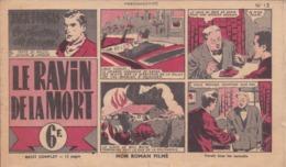 VP-GF.20-149 : MON ROMAN FILME. BANDE DESSINEE PAR JACK FORGAS. LE CHASSEUR DE GANGS. TEXTE POLSIS DESSINS LONDON - Livres, BD, Revues