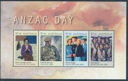 AUSTRALIA 2020 - ANZAC DAY 2020 MIniature Sheet MNH - 2010-... Elizabeth II