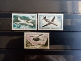 FRANCE.1957 à 1959. Poste Aèrienne N° 35.36.37 . NEUFS++. Côte Yvert 110 € - 1927-1959 Nuevos